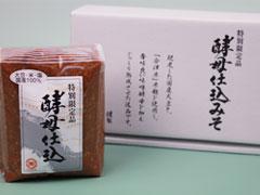 喜多方 伊藤金四郎商店 特別限定品 酵母仕込みそ