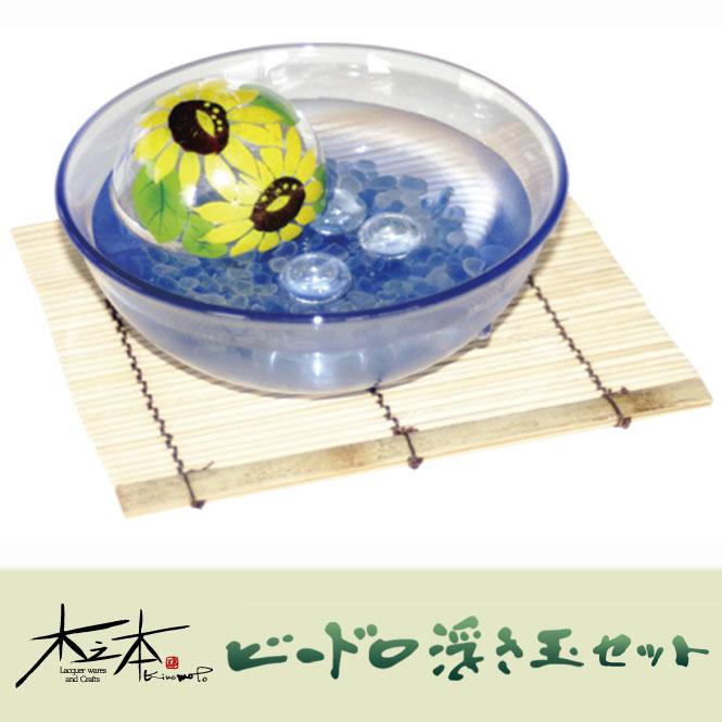 木之本 ビードロ浮き玉大玉ブルーBセット