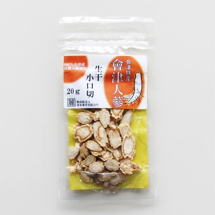会津特産會津人蔘 小口切20g