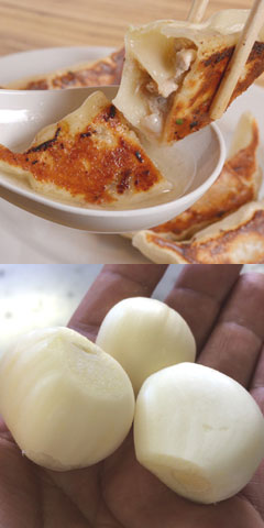 冷凍生餃子